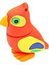 zpk36 16gb röd uggla tecknad fågel USB 2.0-flashminne u hålla