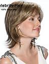 l\'europe et les etats unis perruque de fibres chimiques caps fleeciness blonds ondules femme perruque