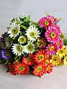 Une succursale Polyester Marguerites Fleur de Table Fleurs artificielles