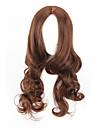 longues perruques synthetiques de style de la mode vague profonde