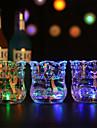 lysande vin cup / kopp, vatten induktion ljus, hjärta till hjärta
