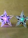 star pentagramme nouveaute en forme de 7 changement de couleur decoration a conduit la lumiere de nuit