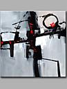 Pictat manual Fantezie Pătrat,Modern Un Panou Canava Hang-pictate pictură în ulei For Pagina de decorare