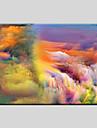 Peint a la main AbstraitModern / Classique / Traditionnel / Pastoral / Style europeen Un Panneau Toile Peinture a l\'huile Hang-peint For