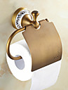 Toalettpappershållare , Traditionell Antik koppar Väggmonterad