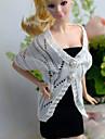 Informel Plus d\'accessoires Pour Poupee Barbie Blanc / Noir Jupes / Hauts Pour Fille de Doll Toy
