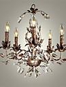 Montage du flux ,  Retro Autres Fonctionnalite for Cristal Style mini Style Bougie Metal Chambre a coucher