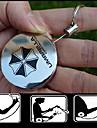 teleskop nyckel spänne kreativa metall lätt dra nyckel spänne teleskop nyckelring (slumpvis färg)