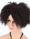 """8 """"kinky lockigt naturliga färg maskintillverkade peruker jungfruligt brasilianskt människohår peruker med baby hår för svarta kvinnor"""