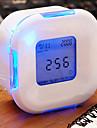 changement incandescent conduit numerique incandescent alarme thermometre horloge cube (couleur aleatoire)