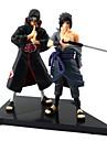 Naruto Sasuke Uchiha PVC Anime Actionfigurer Modell Leksaker doll Toy