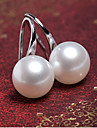 Earring Stud Earrings Jewelry Women Party / Daily / Casual Alloy / Imitation Pearl 1 pair Gold / Silver