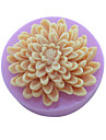 flori crizantema tort săpun mucegai fondantă de silicon de ciocolată mucegai, unelte decor bakeware