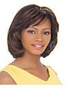 huippulaatua muoti ruskea pitkä suora naisen synteettiset peruukit hiukset