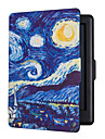 Hot-seller ultra-magnetique auto sommeil slim cover case hard shell pour kobo glo hd ciel etoile 6.0inch