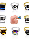 5pcs Nail art rings-Autre decorations-Doigt- enAdorable-1.7cm*1.2cm