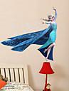 Tecknat Wall Stickers Väggstickers i 3D Dekrativa Väggstickers,PVC Material Kan tas bort Hem-dekoration vägg~~POS=TRUNC