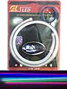 2st avger rör leds mjuk lampa auto ögonbryn höjdpunkt ledde lampan lyser artikel 60 cm