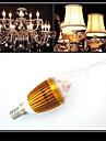 3W E14 LED-kronljus CA35 3 Högeffekts-LED 300-350 lm Varmvit / Kallvit Dekorativ AC 220-240 V 1 st