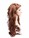 longs cheveux longueur armure europeenne cheveux couleur brune perruque synthetique