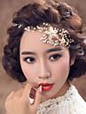 Mujer Aleacion / Perla Artificial Celada-Boda / Ocasion especial Bandas de cabeza 1 Pieza