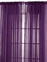 Un Panneau Le traitement de fenetre Rustique Salle de sejour Polyester Materiel Rideaux opaques Decoration d\'interieur For Fenetre