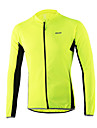 Arsuxeo® Maillot de Cyclisme Homme Manches longues Velo Respirable / Sechage rapide / Design Anatomique / Zip frontal Maillot / Hauts/Tops