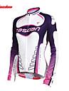 TASDAN® Cykeltröja Dam Lång ärm Cykel Andningsfunktion / Snabb tork / Ultraviolet Resistant / Svettavvisande Tröja / Överdelar100%