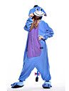 kigurumi Pyjamas New Cosplay® / Ane Collant/Combinaison Fete / Celebration Pyjamas Animale Halloween Bleu Mosaique Polaire Kigurumi Pour