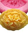 Eye formad blomma silikonform Fondant Formar Sugar Craft Verktyg harts blommor Mould formar för kakor