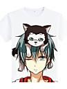 Inspirerad av Kuroko ingen korg Cosplay Animé Cosplay Kostymer/Dräkter cosplay Suits Tryck Vit Kappa