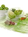100pcs kök frukt grönsaker mat återanvändbar förvaringspåsar väska färska gröna