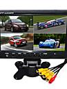 9 tums hd quad-TFT-LCD bil backspegeln övervaka med stativ vända backup kamera av hög kvalitet