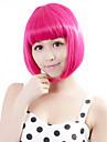 """neitsi 100% fibre de kanekalon 14 """"(35cm) cosplay court bob synthetique perruques de cheveux de la fille de 160g / pc des femmes ont"""