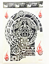 #(1) Tatouages Autocollants Series de totem Motif ImpermeableFemme Adulte Male Tatouage Temporaire Tatouages ​​temporaires