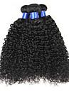 """4 buntar 8-30 """"7a obearbetat jungfru hår brasilianska kinky lockigt hår väva människohår förlängningar"""