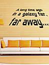Ord & Citat / fantasi Wall Stickers Väggstickers Flygplan,vinyl 105.6*42cm