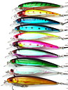 10 Pcs/Bag 13.5 g 11cm 0.5m-1.5m Suspending Fishing Lures Wholesale