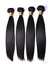 """2pc / lot 8-30 """"cheveux vierges 7a cheveux humains brazilian non transformes vierges brazilian faisceaux de cheveux raides droites"""