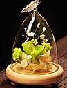 verre de style pastoral pour la decoration maison 1pc / set (vase seulement sans aucune fleur)