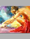 amplasarea fetei pe picturi acrilice pe sol