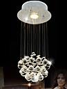 Lumini pandantiv ,  Kuglasta Crom Caracteristică for Cristal CristalSufragerie Dormitor Bucătărie Cameră de studiu/Birou Cameră Copii