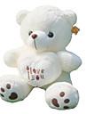 (35,4 tum) söt jag älskar dig hjärtat bära plysch fyllnings pp bomull gåva