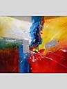 HANDMÅLAD AbstraktModerna / Klassisk / Traditionellt / Parfymerad / Europeisk Stil En panel Kanvas Hang målad oljemålning For