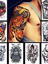 Autres Multicolore Papier approvisionnement de tatouage article complet Pochoir Tatouage