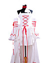 Pandora Hearts White Rabbit Alice White Dress Cosplay Costume