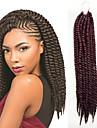 #33 havana twist Flätor Hårförlängningar 12inch 14inch 18inch 24inch Kanekalon 2X Strå 120g/Pack gram Hair Braids