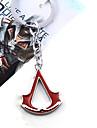Bijoux Inspire par Assassin\'s Creed Cosplay Anime/Jeux Video Accessoires de Cosplay Colliers Noir / Rouge / Bleu AlliageMasculin /