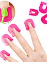 26pcs / series nail art creatif polish outils protecteurs ongles manucure outils de bricolage