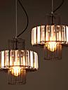 MAX 60W Lampe suspendue ,  Vintage Peintures Fonctionnalite for Cristal MetalSalle de sejour / Chambre a coucher / Bureau/Bureau de